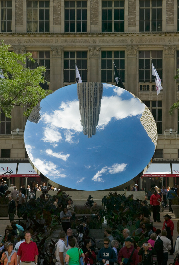 Sky Mirror (2006) by Anish Kapoor