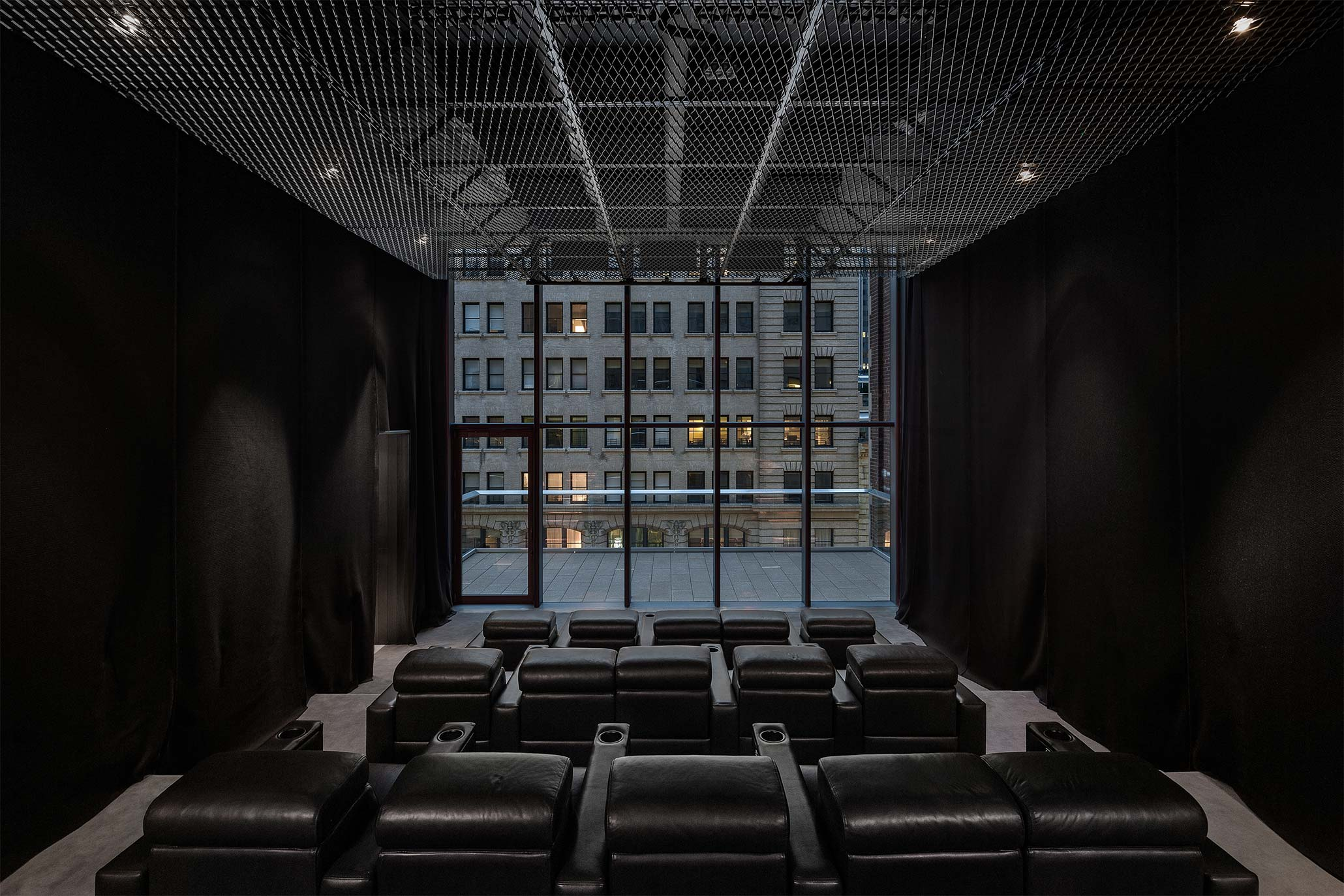 Luxury Amenities include a Theater and Private dining