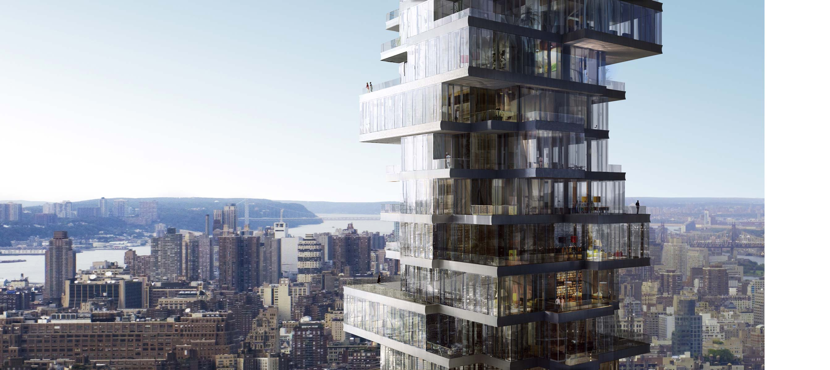 Iconic new luxury condos for sale in nyc 56 leonard for Top residential architects nyc
