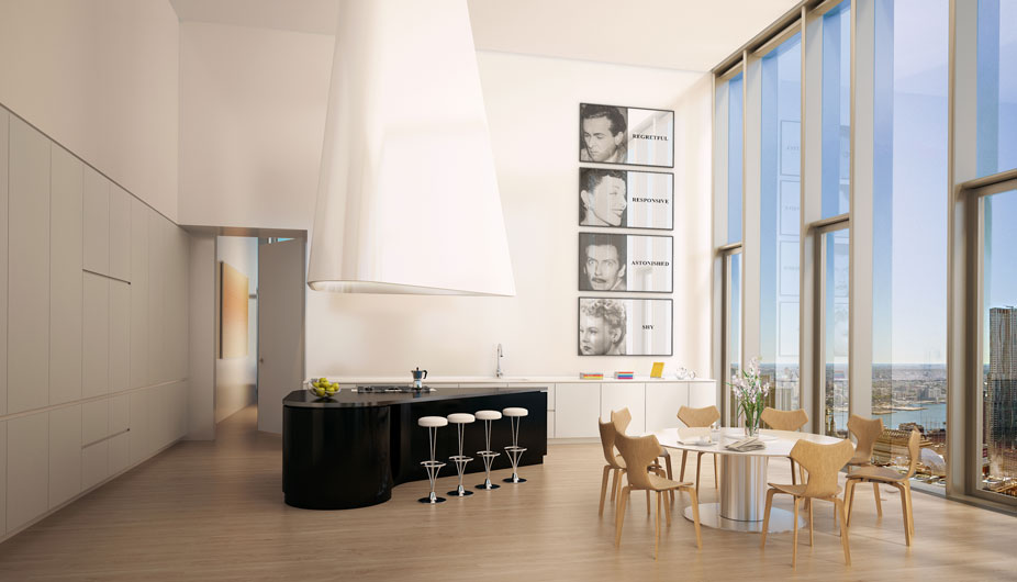 High Rise Apartment Inside iconic, new luxury condos for sale in nyc — 56 leonard