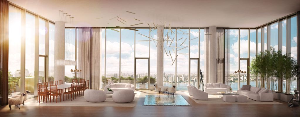 Iconic new luxury condos for sale in nyc 56 leonard for Penthouses for sale in manhattan