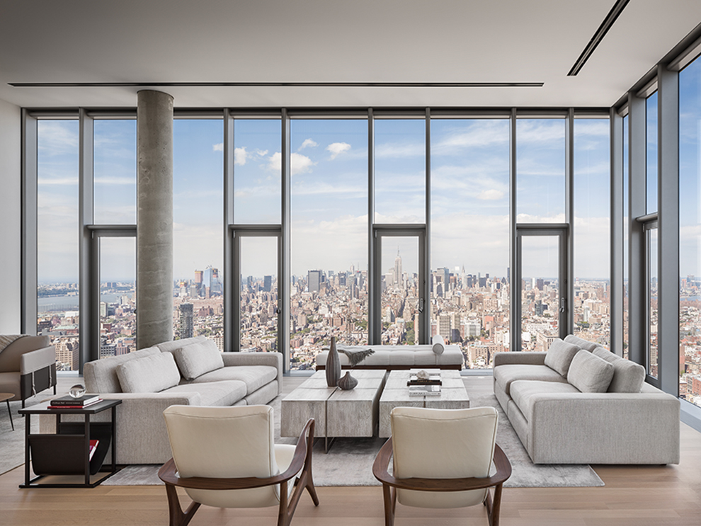 best design firms nyc engineering news record Step Into a $17.75 Million Penthouse 52 Floors Above New York
