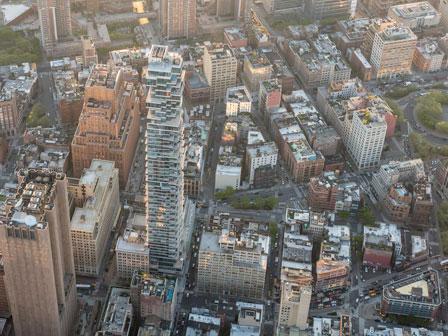 56 Leonard aerial view